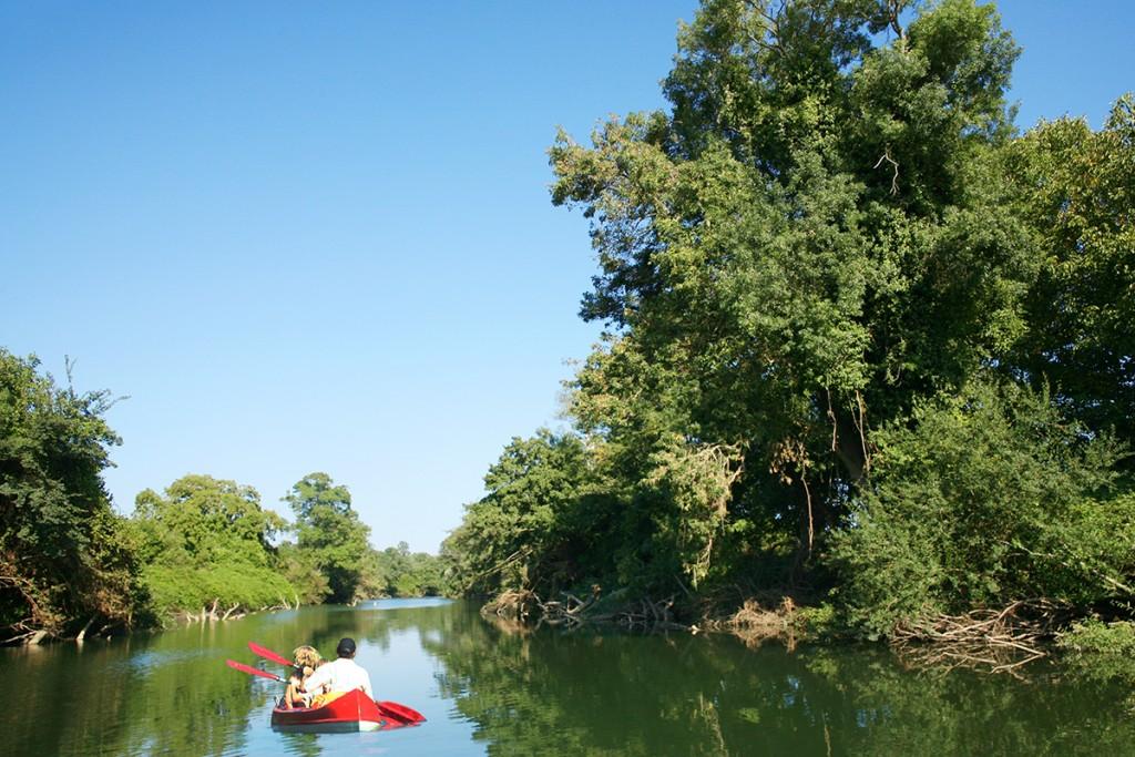 С каяк по река Велека